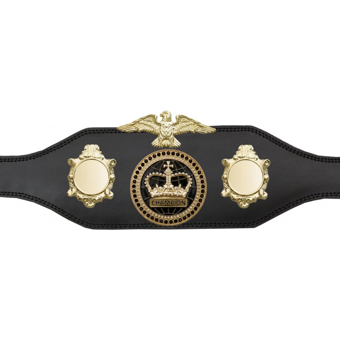 CHAMPIONSHIP BELT - BUD004/G/BLKGEM - AVAILABLE IN 4 COLOURS